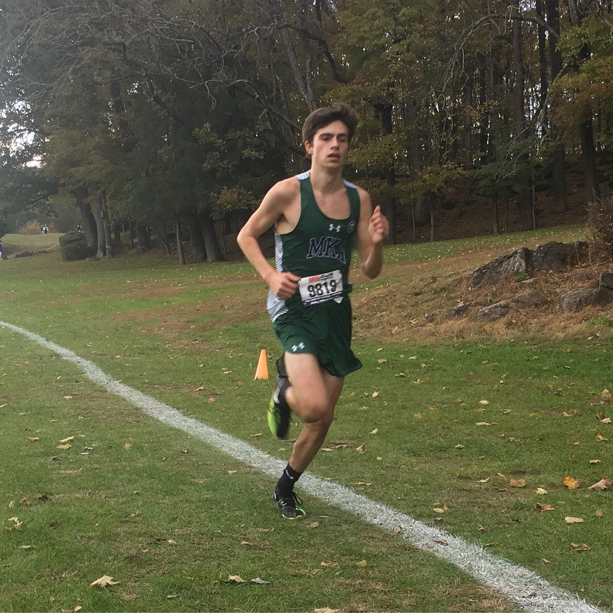 Charlie Koenig '20 Wins Gold in the NJ Prep B Championship Cross Country Meet