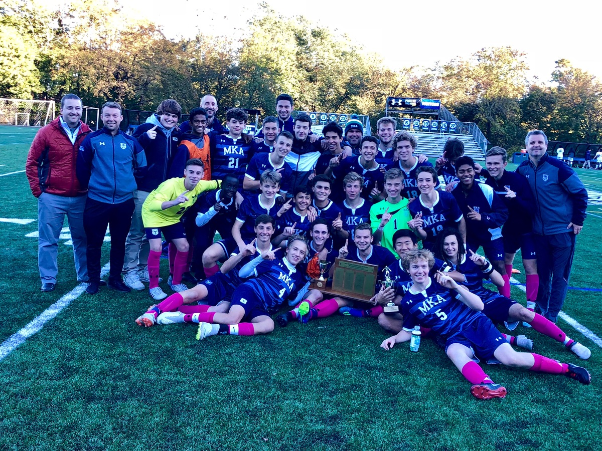 Varsity Boys Soccer Wins 2nd Consecutive NJ Prep B State Title