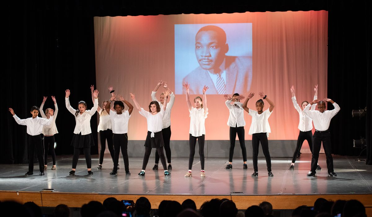 Middle School Dance Program Honors Dr. Martin Luther King, Jr During Their Annual Performance