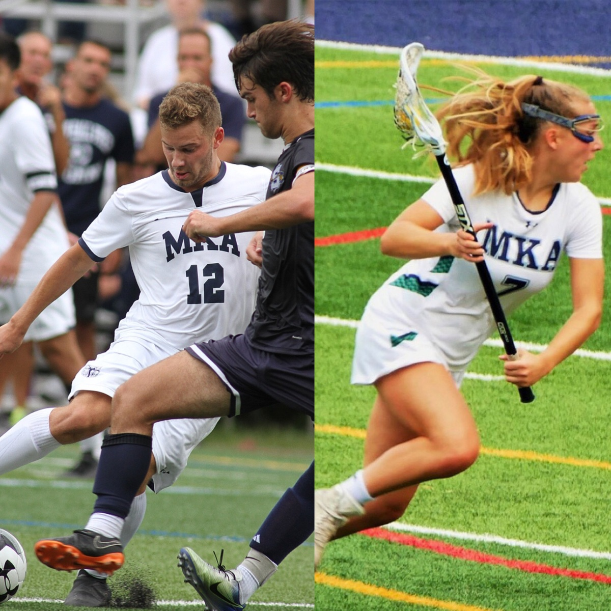 Dylan Ladda '19 and Lily Pryor '19 Named Essex County Scholar Athletes!